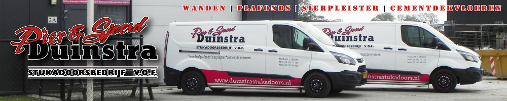 Stukadoorsbedrijf Duinstra